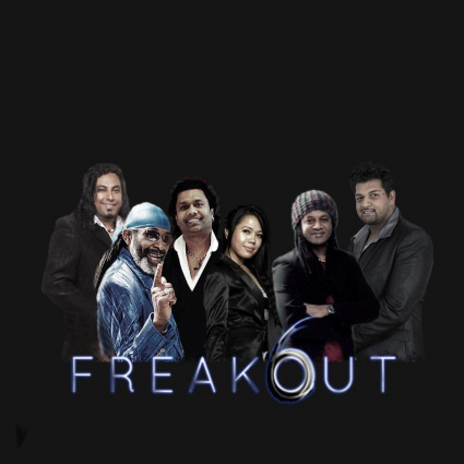 FREAKOUT 6 COVER BAND For Your Events or Live karaoke Band with lyrics picture