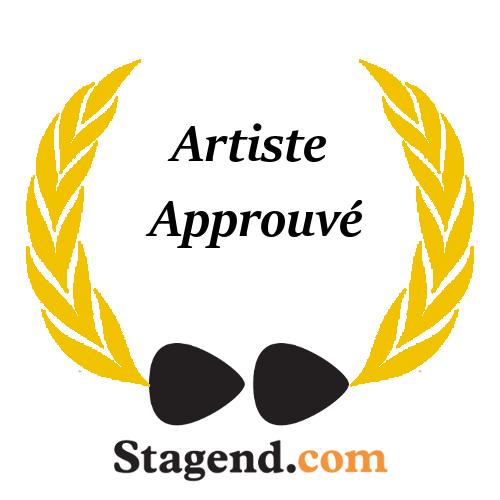 Agnes Karikaturen badge