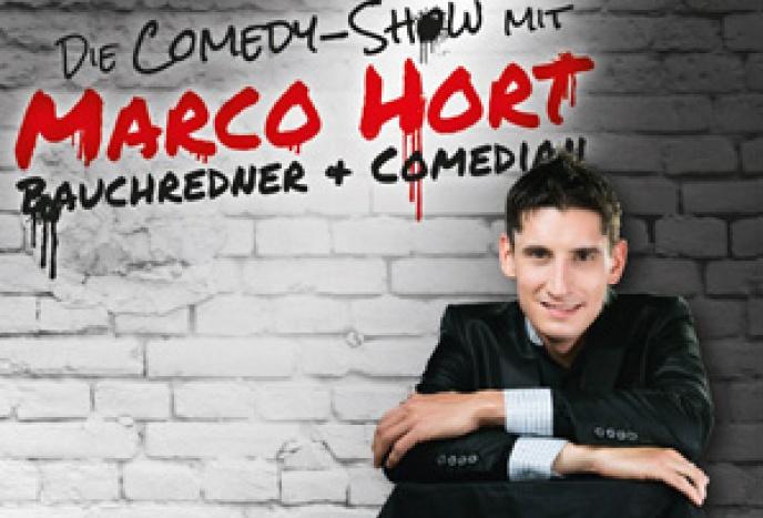 Comedy- und Bauchredner-Show mit Marco Hort