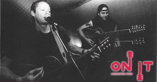 ON IT acoustic cover duo picture