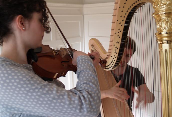 ARPARCO Violine und Harfe