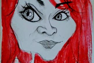 Sylvie - Karikatur Entertainment